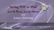 Save PDF to IPad